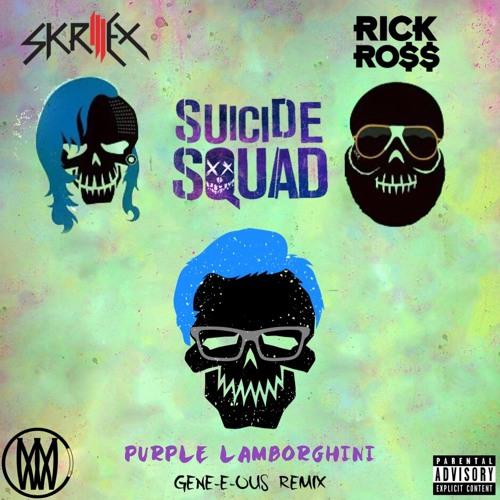 Skrillex Rick Ross Purple Lamborghini Gene E Ous Remix