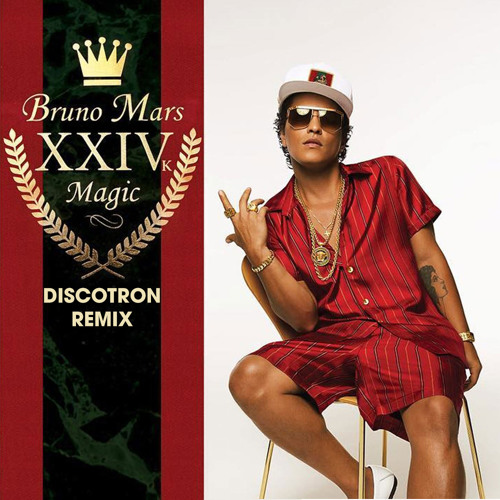 Lirik Lagu Bruno Mars - 24K Magic